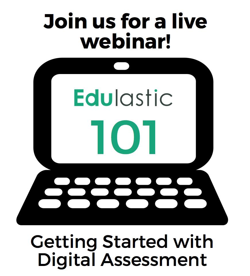 Edulastic101 Webinar Icon