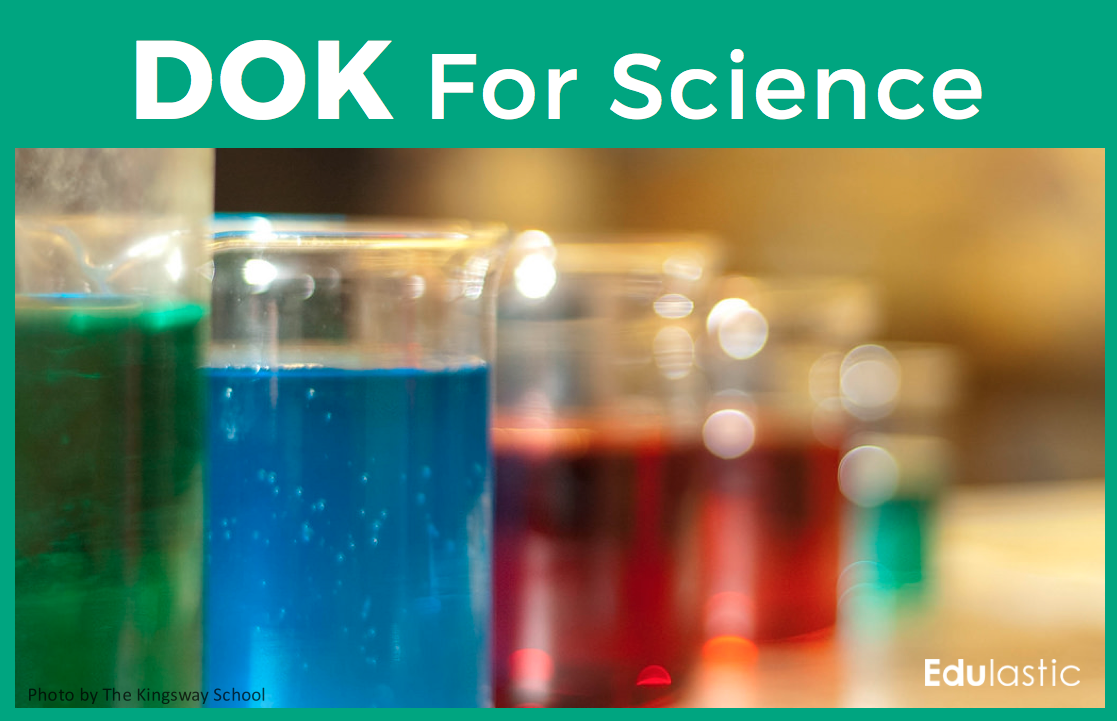 DOK for Science and NGSS